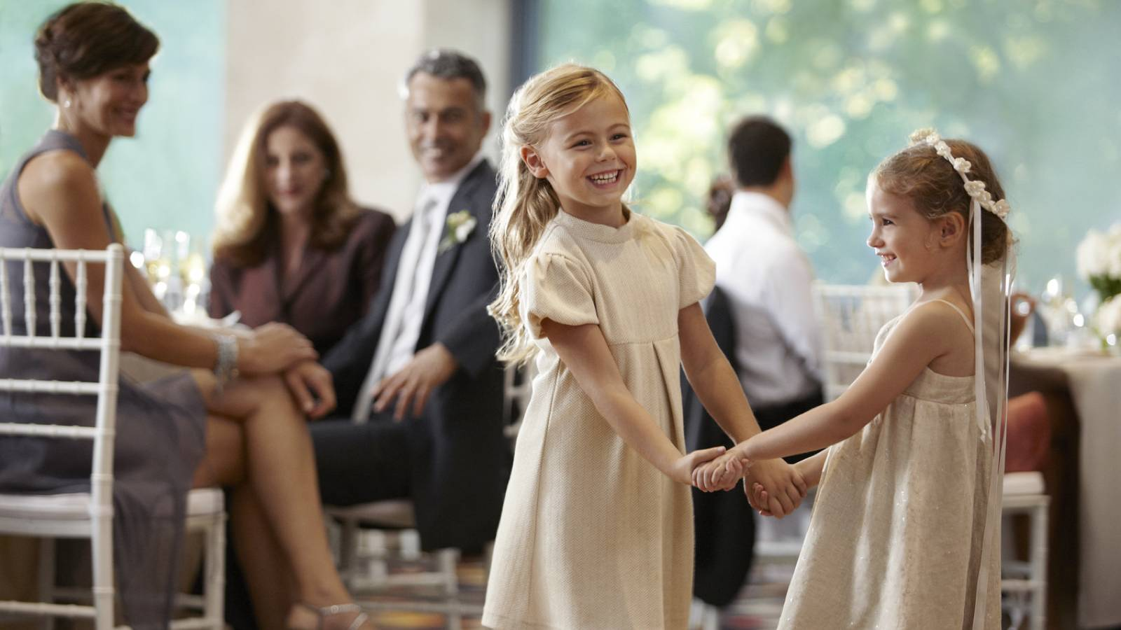 Flushing Wedding Venues Flower Girls